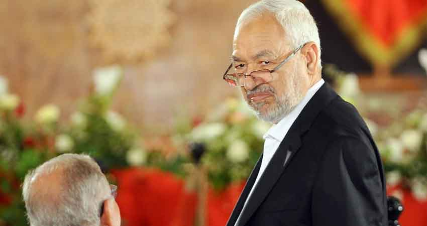 """الغنوشي: """"من المستبعد أن يلغي قيس سعيد دستورا أقسم على احترامه"""""""