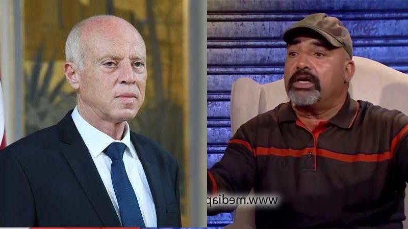 ابراهيم القصاص لقيس سعيد: برافو يا سعيّد يا فحل جابتك أمك وجابت تونس…